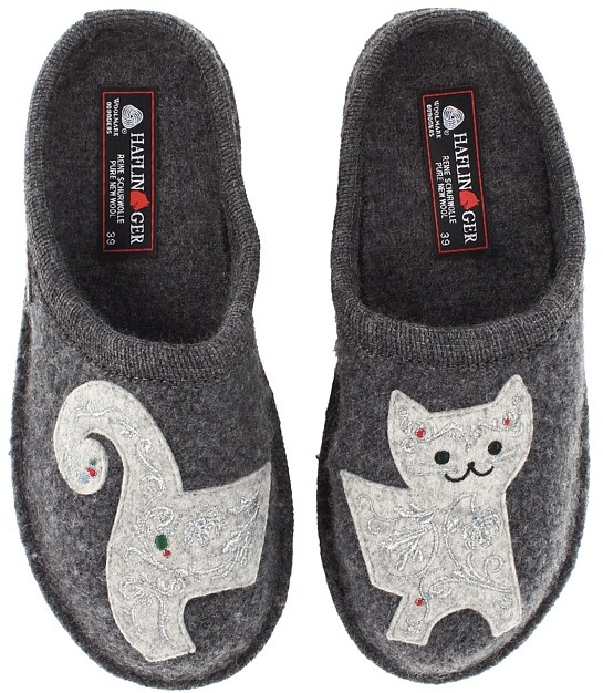 Lizzy Cat Slippers