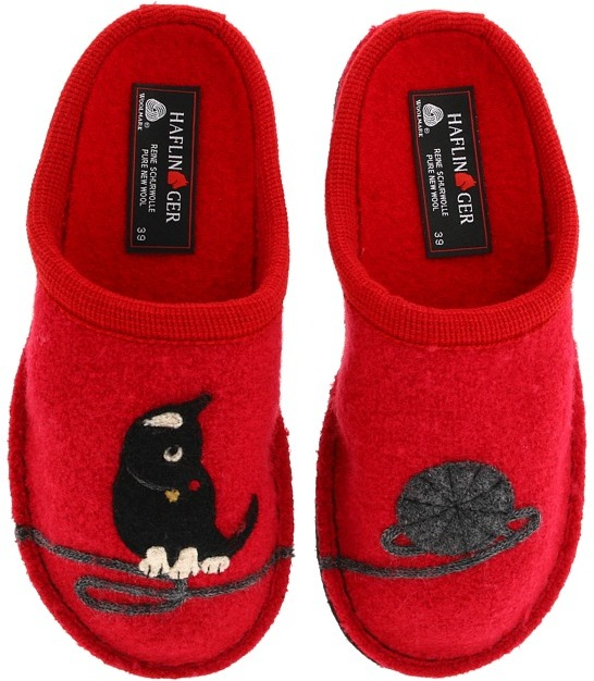 Red Cat Slippers