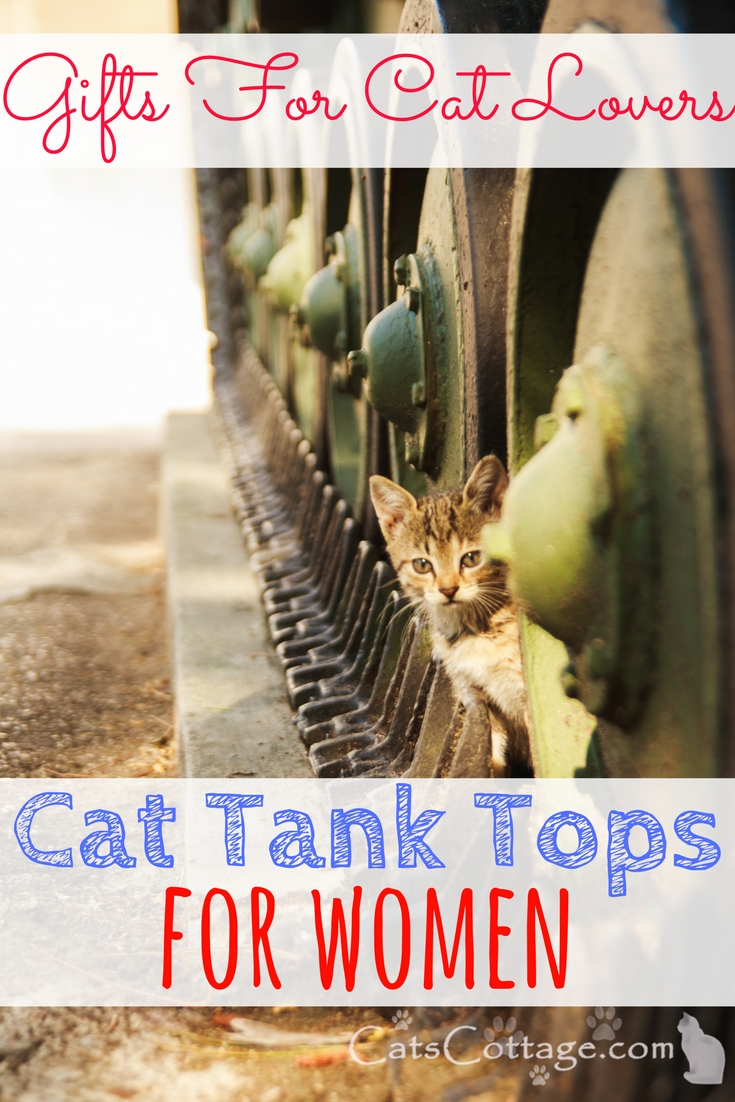 Cat Tank Tops For Women