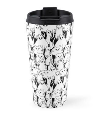 Cat Army Travel Mug